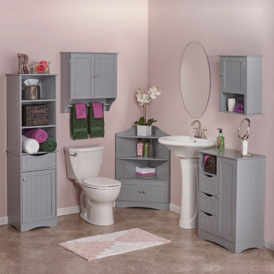 Riverridge Home Free Standing Bathroom Cabinet