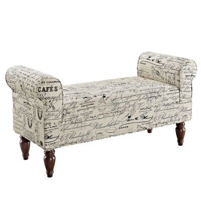 Lillian Fabric Bench