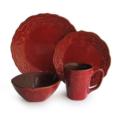 Jay Imports 16-pc. Dinnerware Set