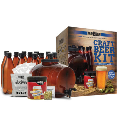 Mr. Beer American Lager Complete Craft Beer Making Kit