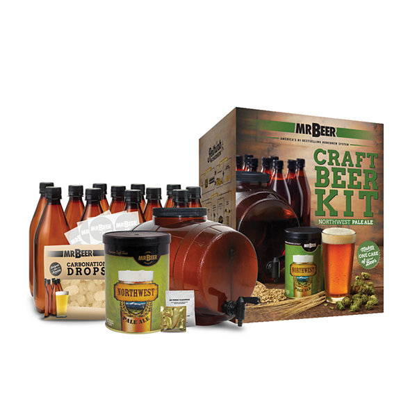 Mr. Beer Northwest Pale Ale Complete Craft Beer Making Kit