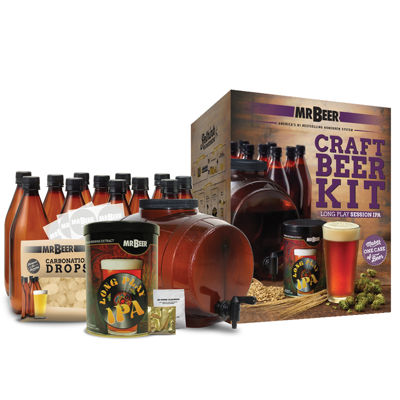 Mr. Beer Long Play IPA Complete Craft Beer Making Kit