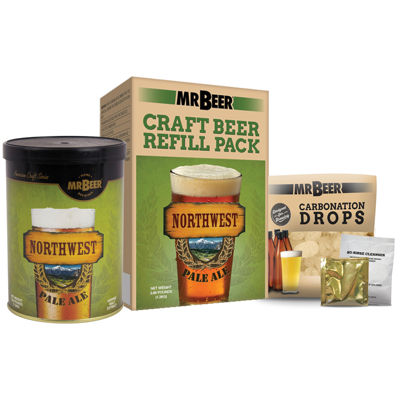 Mr. Beer Northwest Pale Ale Craft Beer Making Refill Kit
