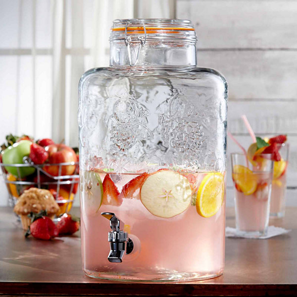 Jay Imports Vineyard Fruit Beverage Dispenser