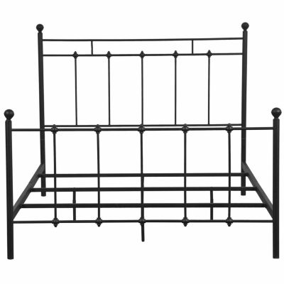 Home Meridian All In One Shaker Metal Bed