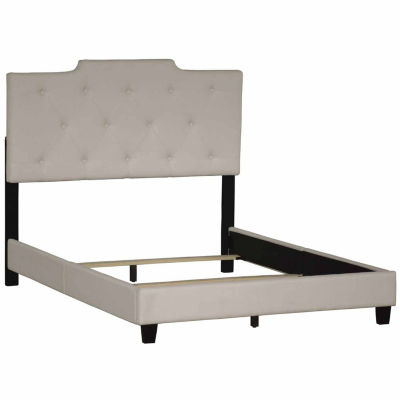 Home Meridian All In One Upholstered High Back Bed