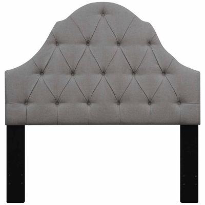 Home Meridian Upholstered Ash Headboard