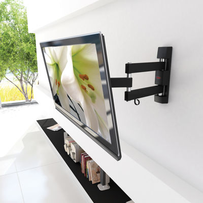 "Full Motion Flat-Panel 40"" Max TV Wall Mount"