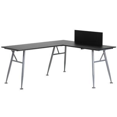 Laminiate L-Shape Computer Desk