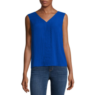 a.n.a Sleeveless Bar Back Blouse