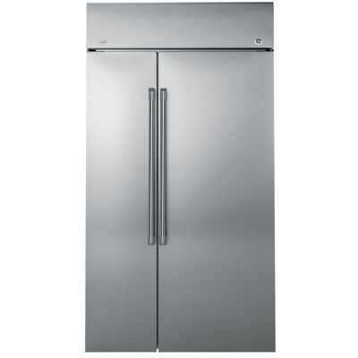 "GE Cafe Series 25.2 cu. ft. 42"" Built-In Side-by-Side Refrigerator"""