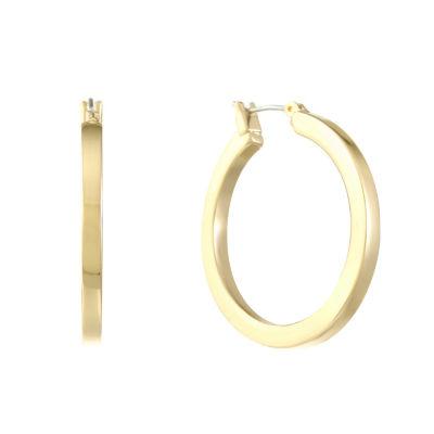 Liz Claiborne 28.5mm Hoop Earrings