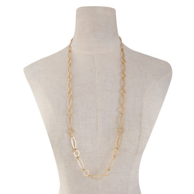 Monet Jewelry 32 Inch Link Chain Necklace