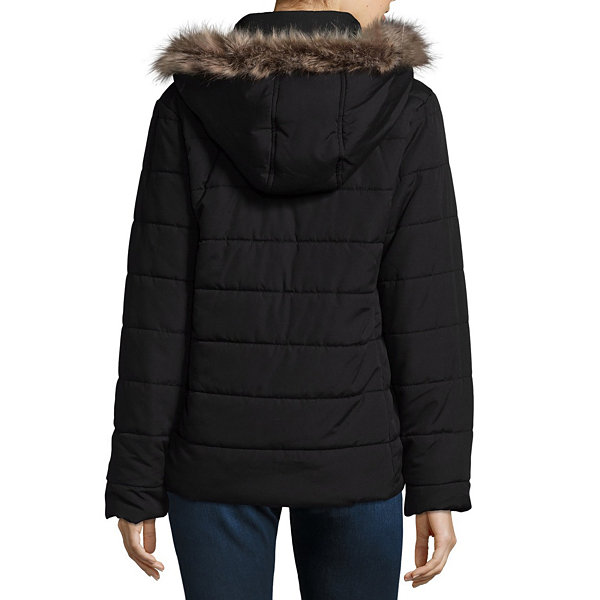 St. John's Bay Heavyweight Puffer Jacket-Tall