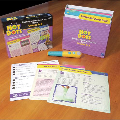 Educational Insights Hot Dots® Reading Informational Text — Grades 1-3