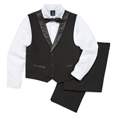 Steve Harvey 4-pc. Vest Set Preschool Boys