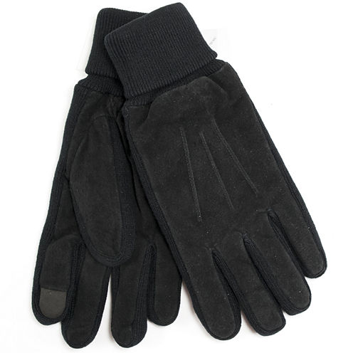 Collection by Michael Strahan Leather Gloves