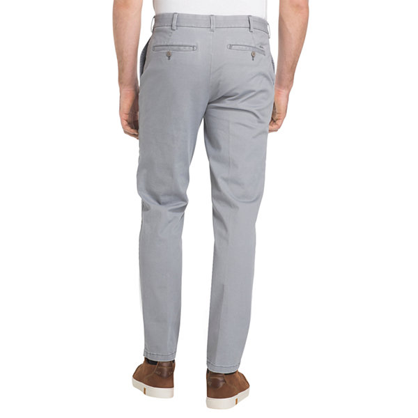 IZOD Washed Chino Straight Fit Flat Front Pant