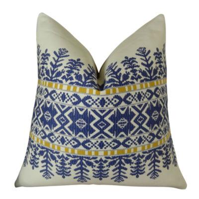 Plutus Aztec City Handmade Throw Pillow