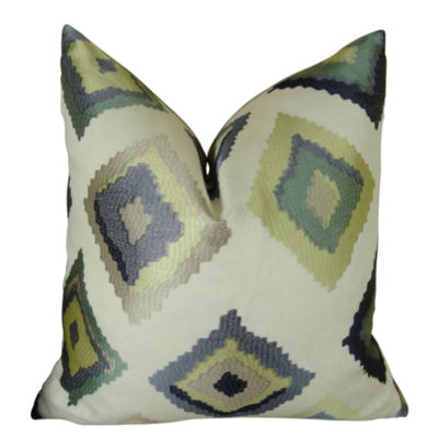 Plutus Native Trail Dew Handmade Throw Pillow