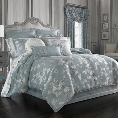 Queen Street Mateo 4-pc. Floral Midweight Comforter Set