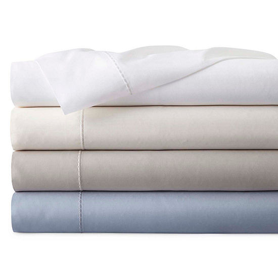 Liz Claiborne Supima Cotton 750tc Sa Sheet Sets And Pillowcases Jcpenney