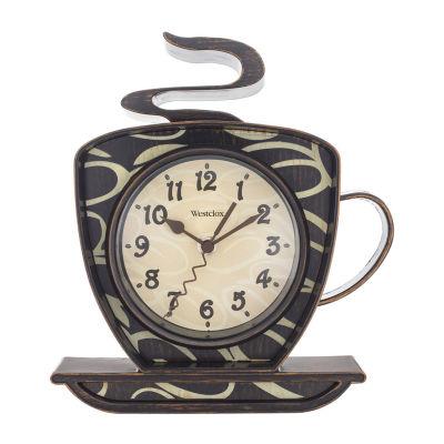 Westclox 3D Coffee Wall Clock