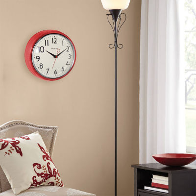 "Westclox 9.5"" Retro Wall Clock"""