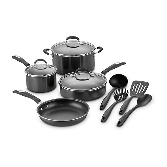 Cuisinart 11-pc. Aluminum Non-Stick Cookware Set