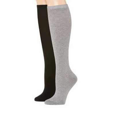 Mixit 2 Pair Knee High Socks - Womens