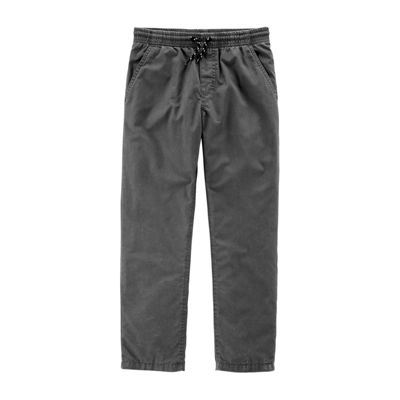Carter's Psb Lined Gry Jogger Knit Pants Boys