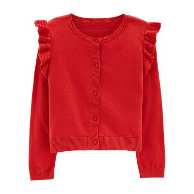 Carter's Long Sleeve Holiday Cardigan - Preschool