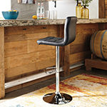 Signature Design by Ashley® Bellatier Set of 2 Adjustable Height Swivel Barstools