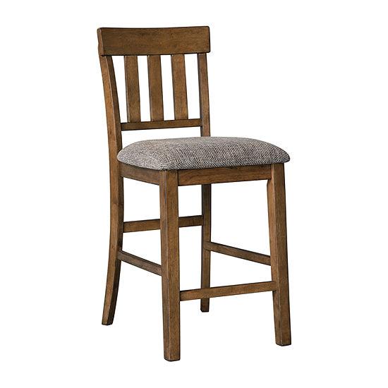 Signature Design by Ashley® Benchcraft® Flaybern Set of 2 Upholstered Barstools