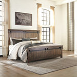 Signature Design by Ashley® Leighton Panel Bed