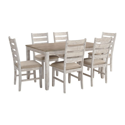Signature Design By Ashley Skempton 7 Piece Dining Table And Chairs