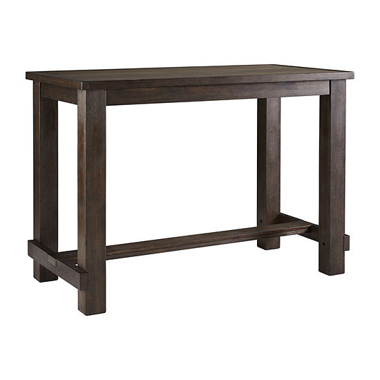 Signature Design By Ashley Drewing Rectangular Bar Height Dining Table