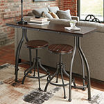 Signature Design by Ashley® Odium 3-Piece Counter Height Dining Table and Bar Stools Set