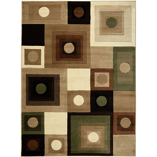 Home Dynamix Tribeca Adella Abstract Rectangular Rug