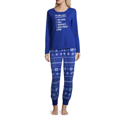 North Pole Trading Co. 2-pc. Pant Pajama Set-Talls