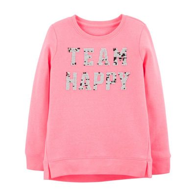 Oshkosh Long Sleeve Sweatshirt - Preschool Girls