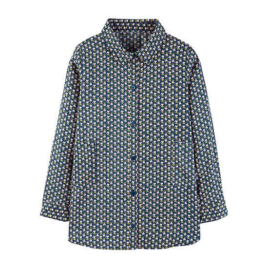 Carter's Graphic T-Shirt-Preschool Girls Girls Long Sleeve Tunic Top Preschool / Big Kid