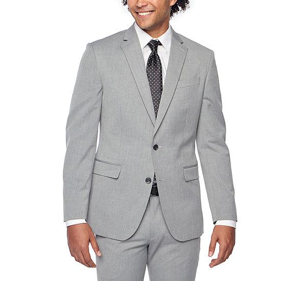 JF J.Ferrar Classic Fit Stretch Suit Jacket-Big and Tall