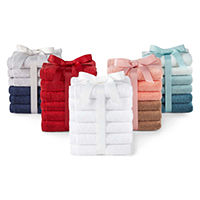 Morgan Home Fashions 6pc Washcloth Set Deals