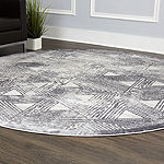 Nicole Miller Kenmare Carolina Distressed Rectangular Rug