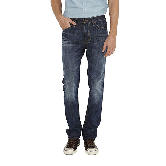 Levi's Mens Mid Rise 513 Stretch Slim Fit Jean