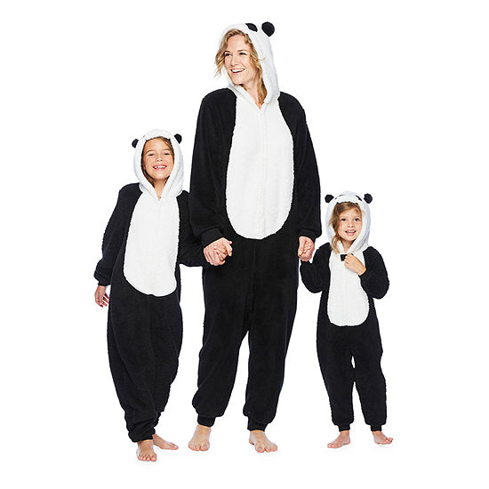 Mommy and Me Panda Critter One Piece Pajama