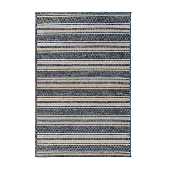 World Rug Gallery Contemporary Striped