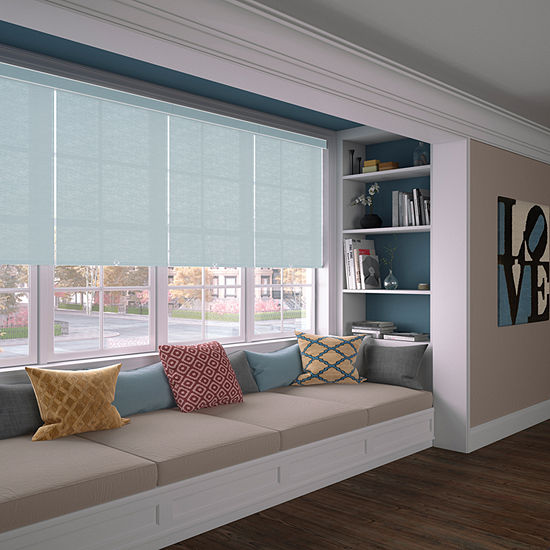 LEVOLOR Heathered Custom Cordless Light-Filtering Roller Shade