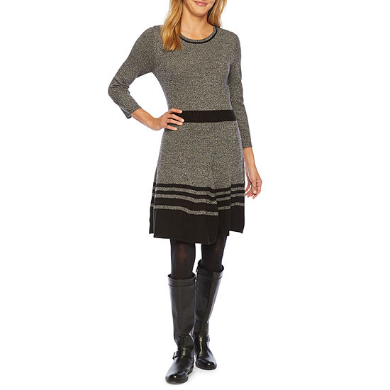 Alyx 3/4 Sleeve Sweater Dress